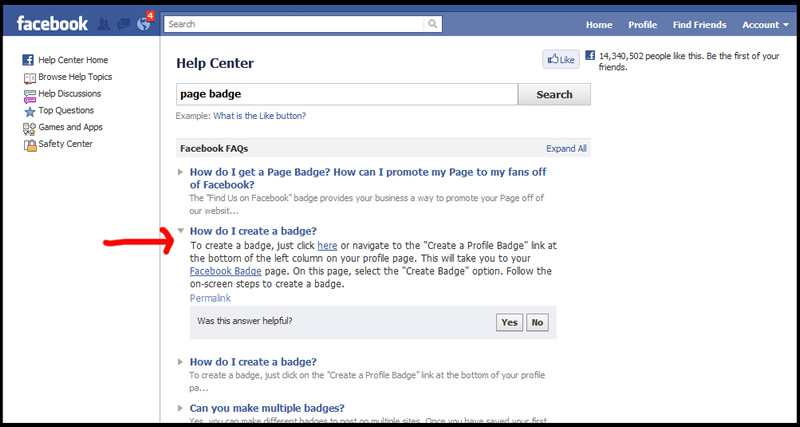 How To Add Facebook Page Badge Code to Your Website - Facebook Page ...